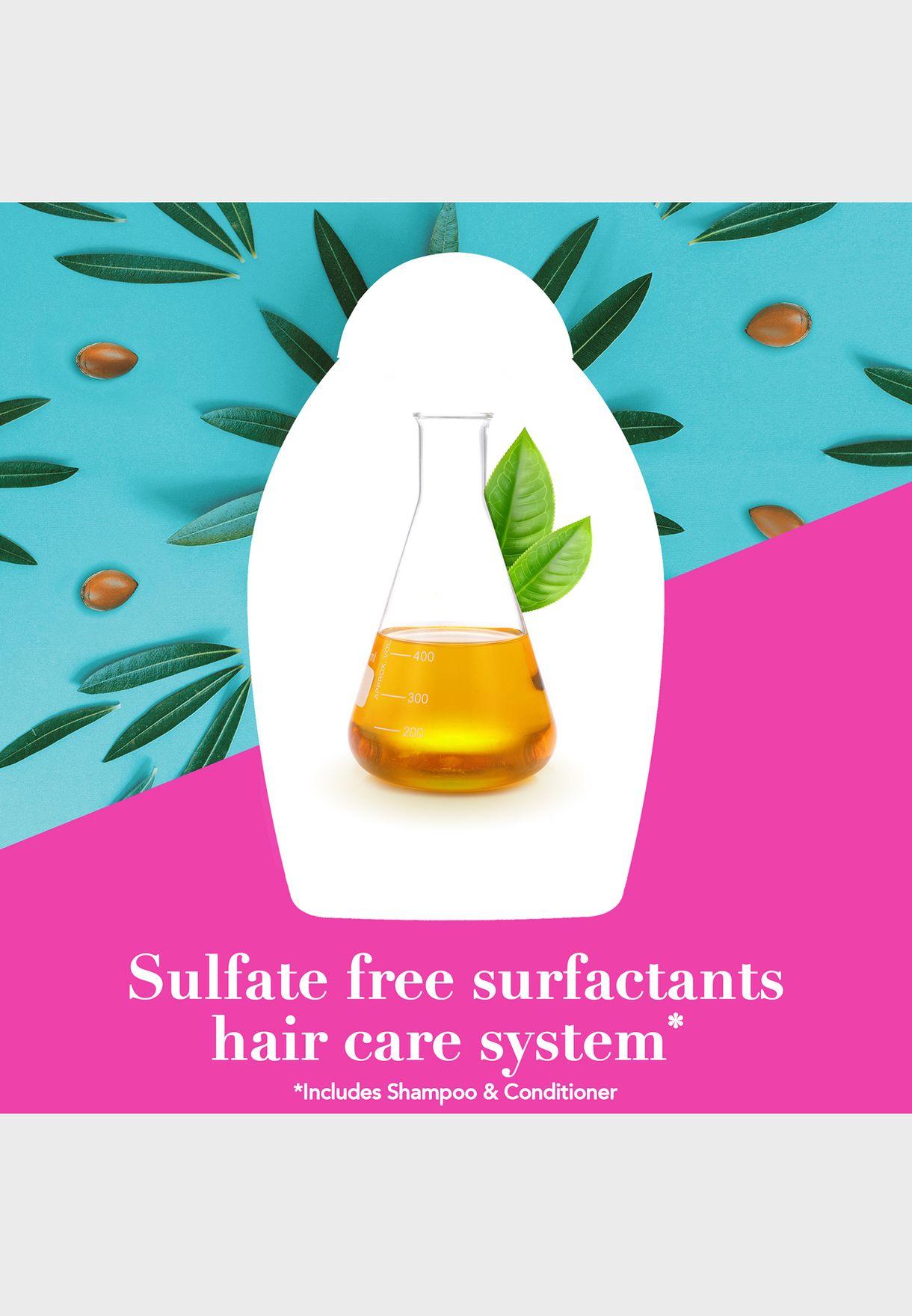 شامبو مجدد بزيت الارغان المغربي - 385 مل