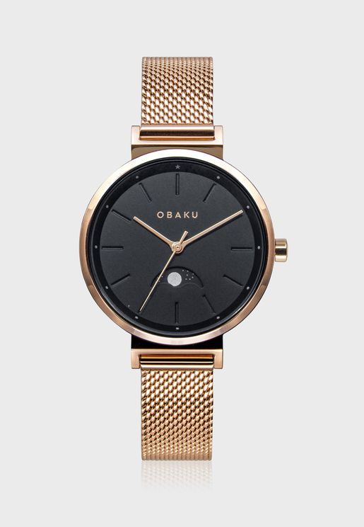 Maane-Gerbera Analog Watch