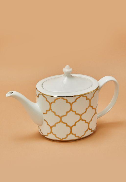 ابريق شاي من البورسلين