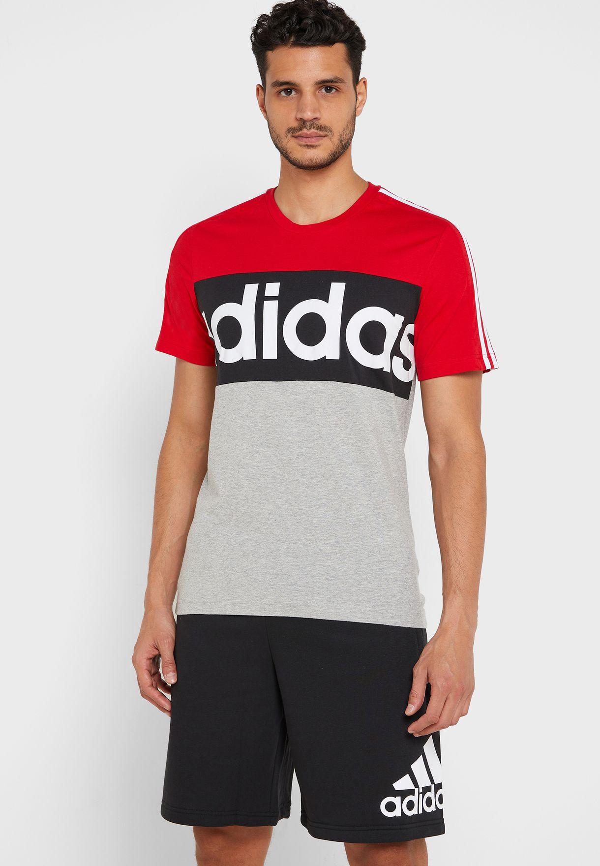 Essential Colour Block T-Shirt