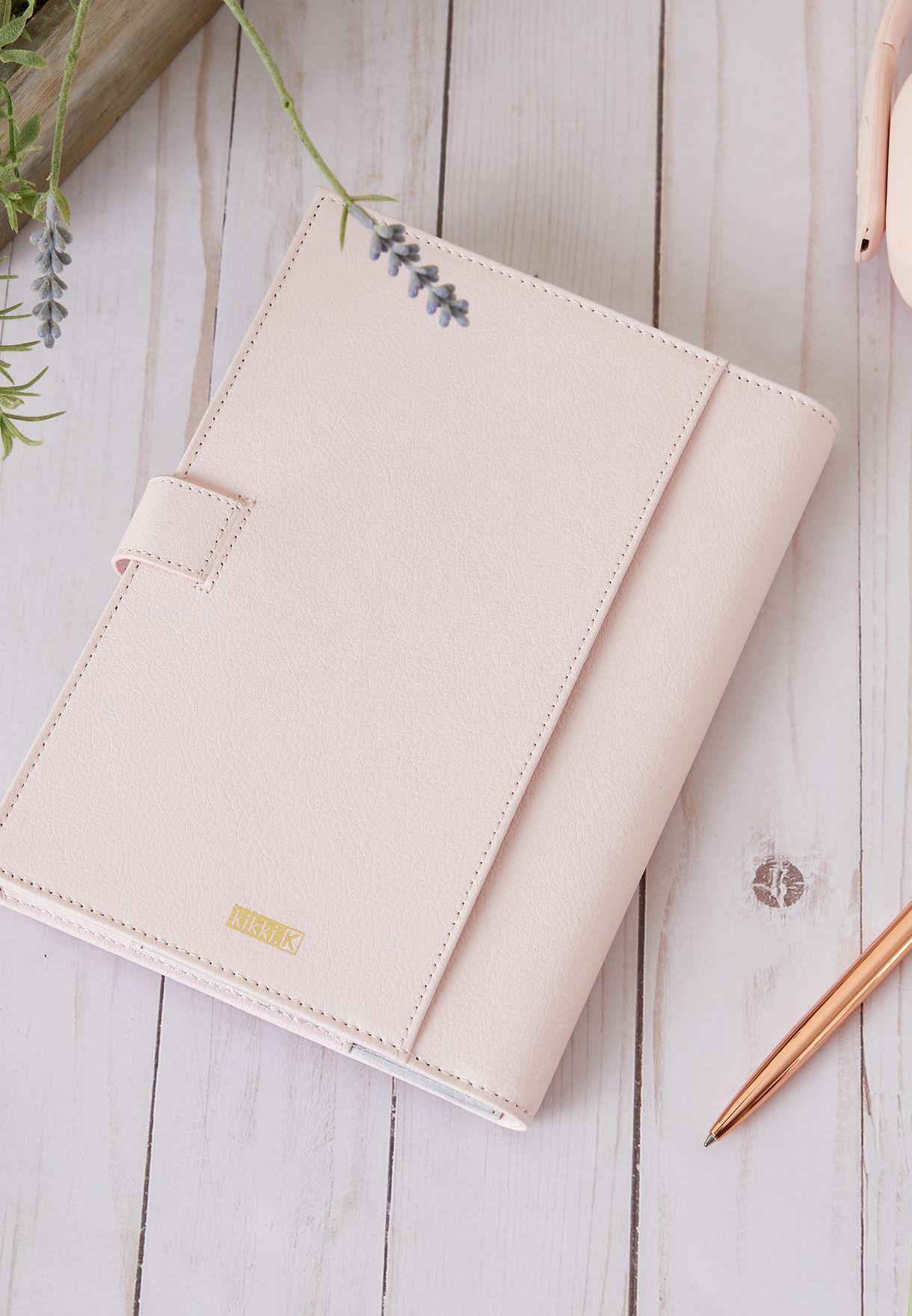 A5 Pink Notebook