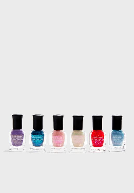 6 Pack Nail Polish Set - Beyond The Sea