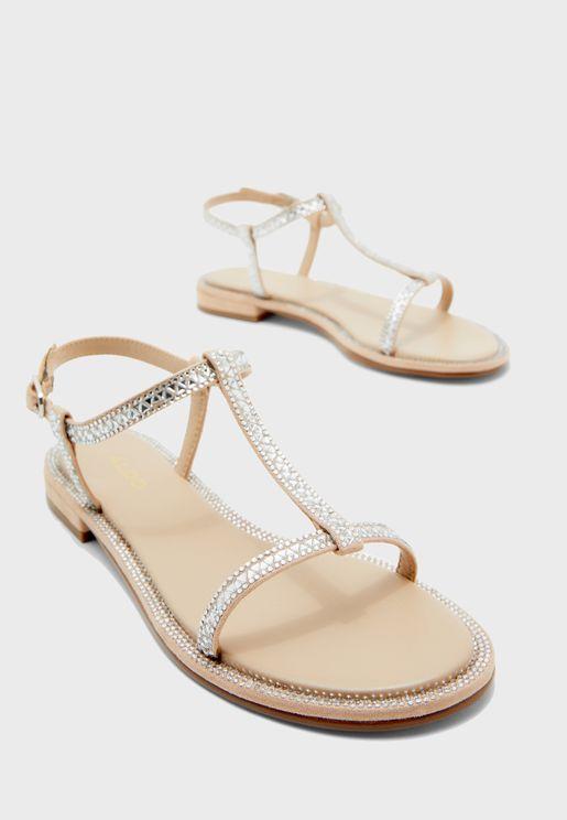 Yboimma Low Heel Sandal