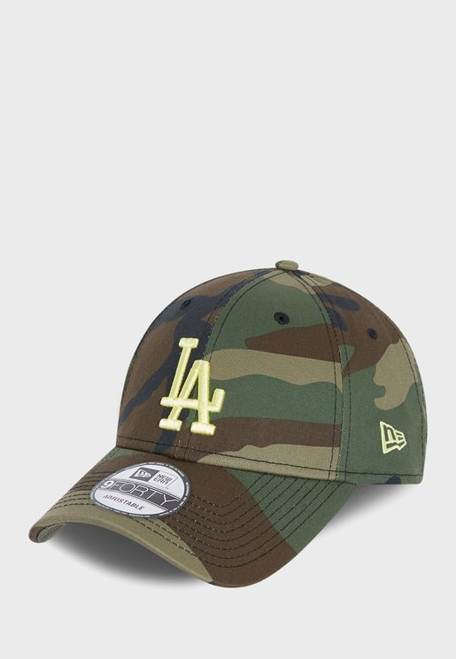 Youth 9Forty Los Angeles Dodgers Camo Cap