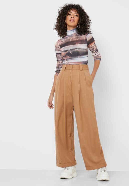 Seam Detail Pants