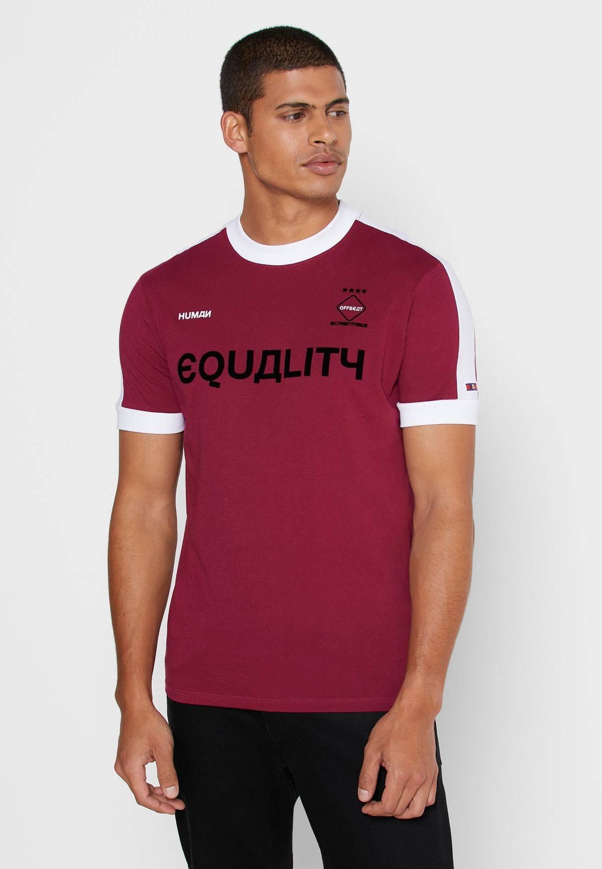 Equality Crew Neck T-Shirt