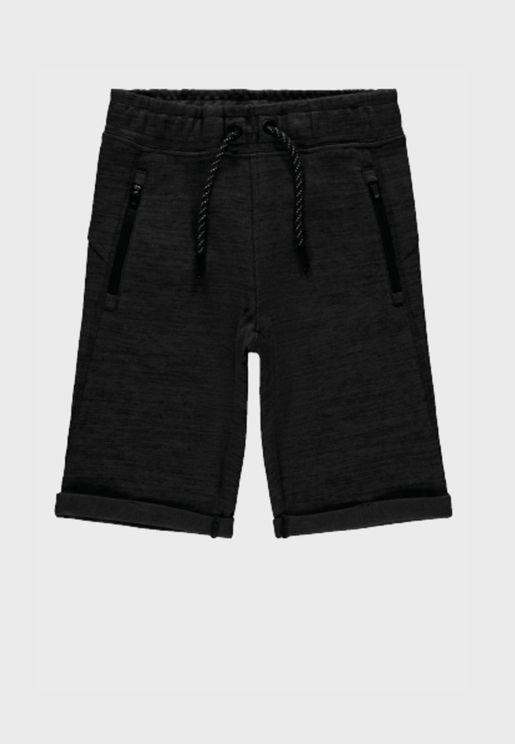 Kids Pocket Detail Shorts