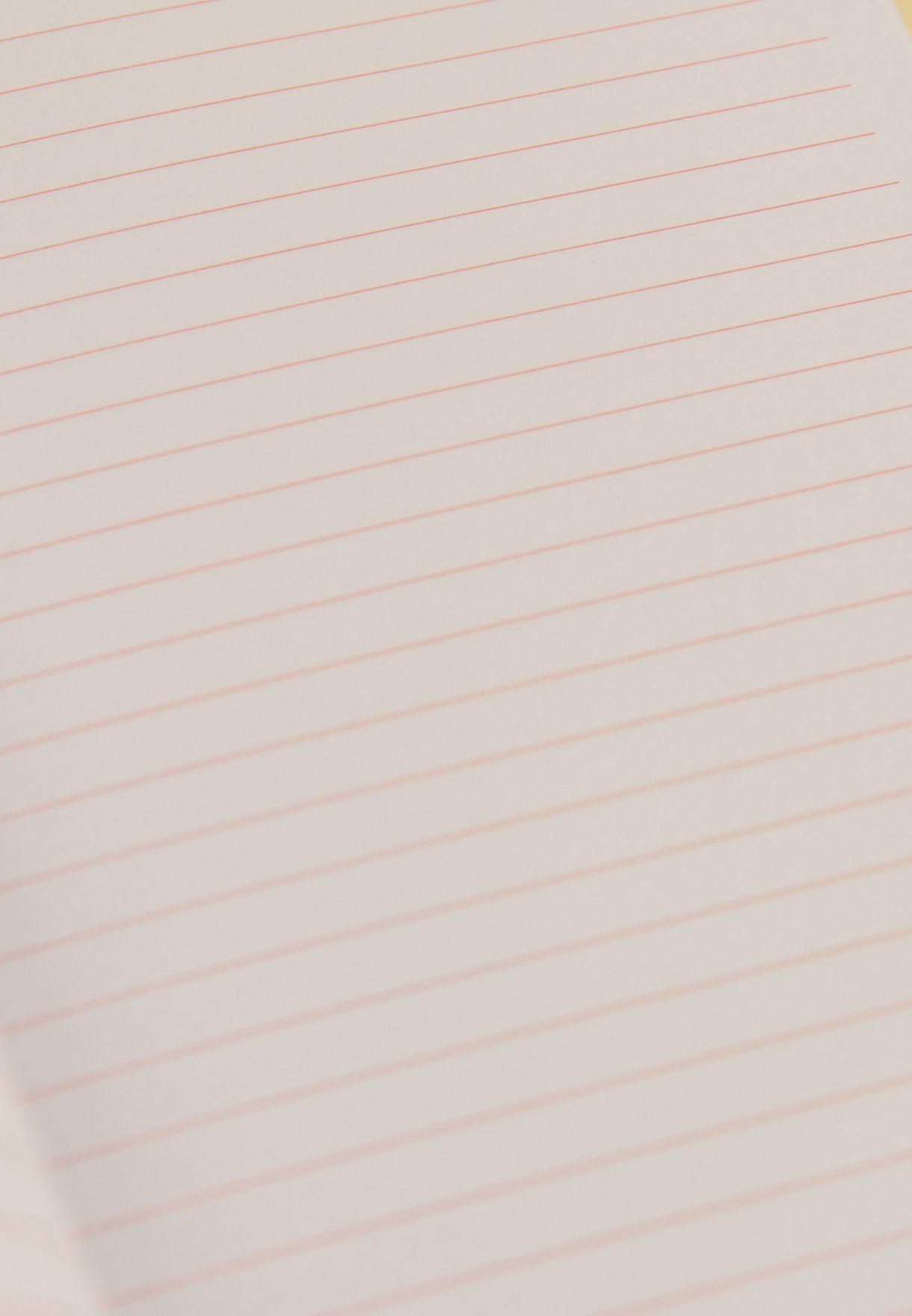 دفتر يوميات واقلام حبر