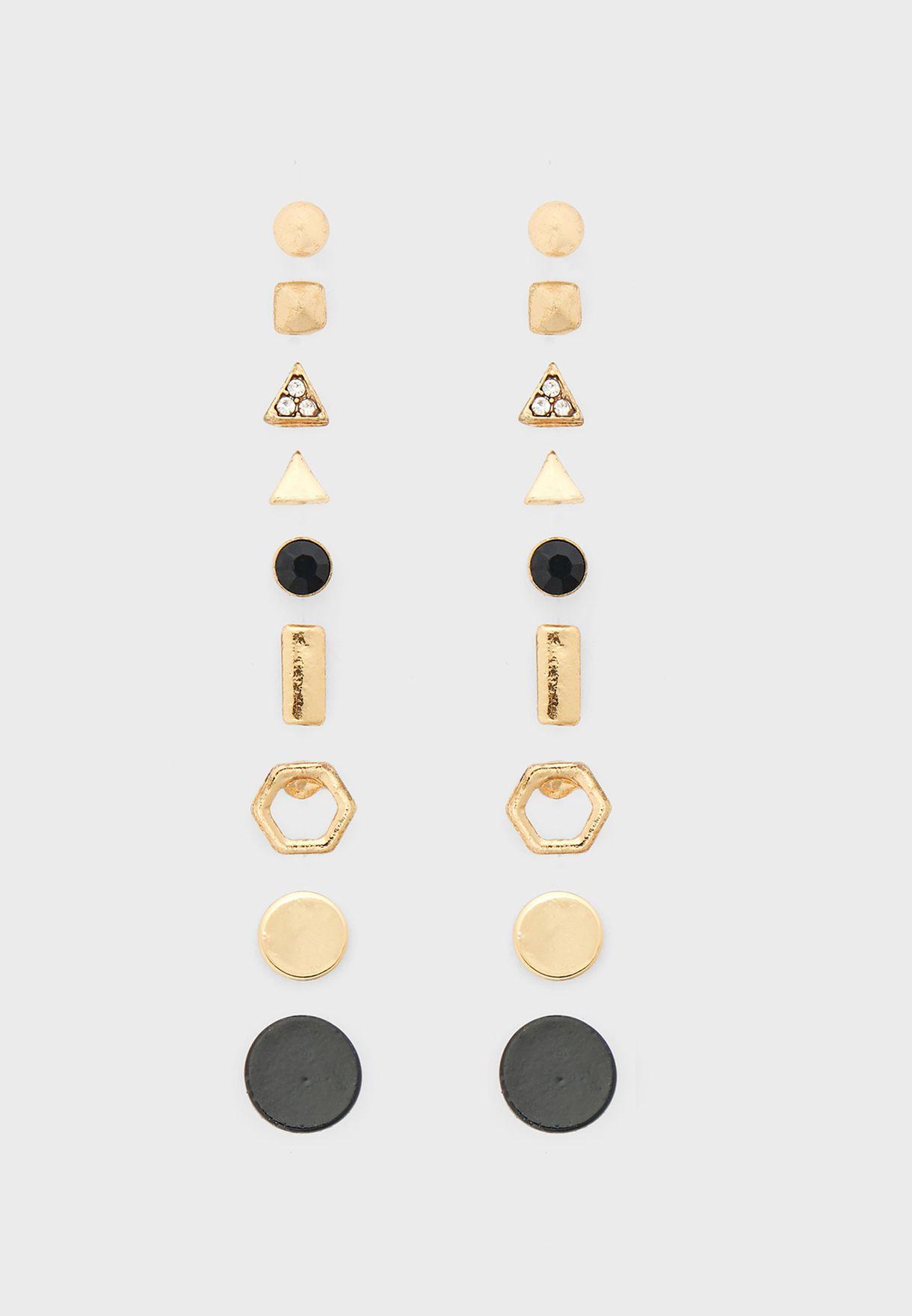 Multipack Mixed Stud Earrings
