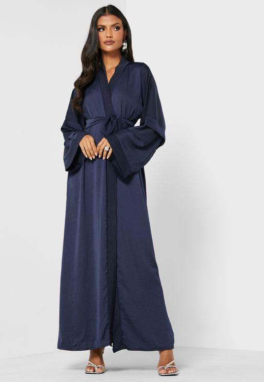 Belted Abaya
