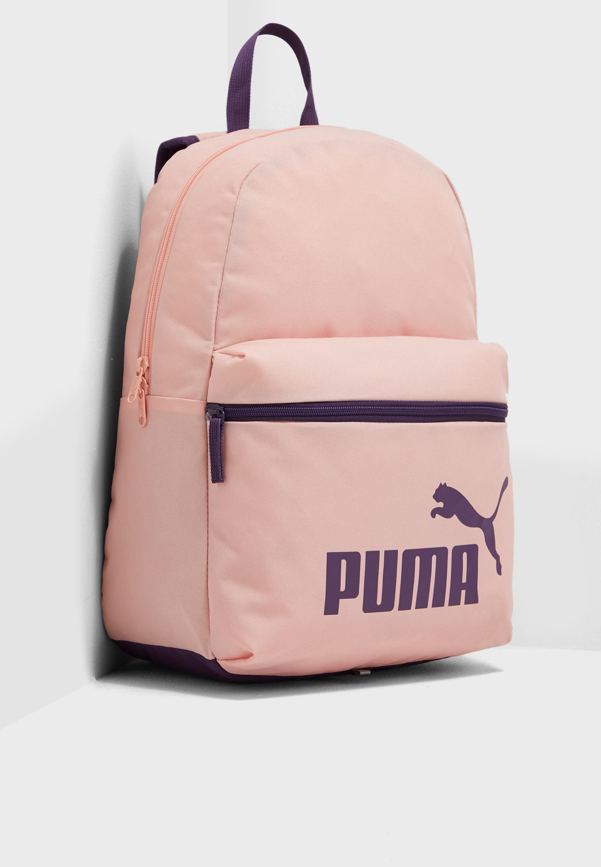 8f28615c1f Shop PUMA pink Phase Backpack 7548714 for Women in Saudi - 20000AC41BRP