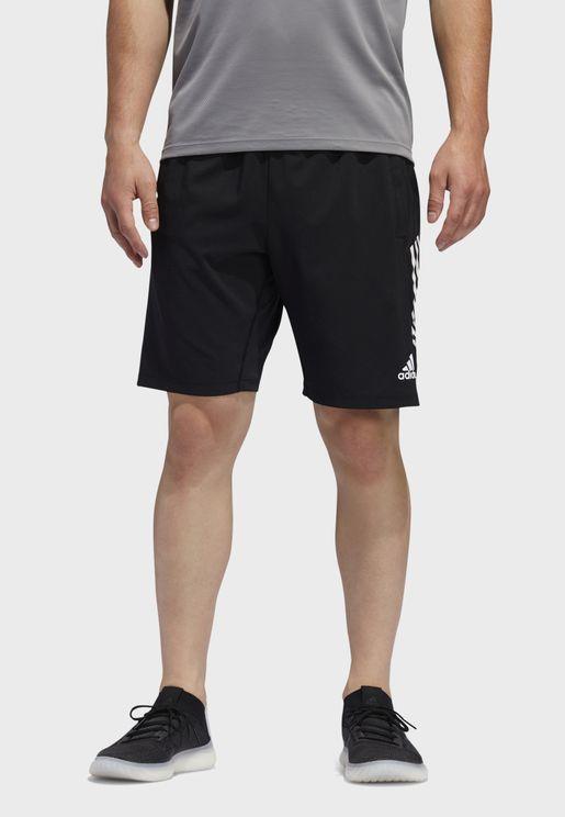 4KRFT 3 Stripe Woven Shorts