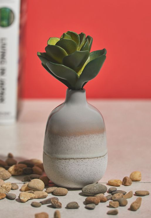 Reactive Glaze Vase