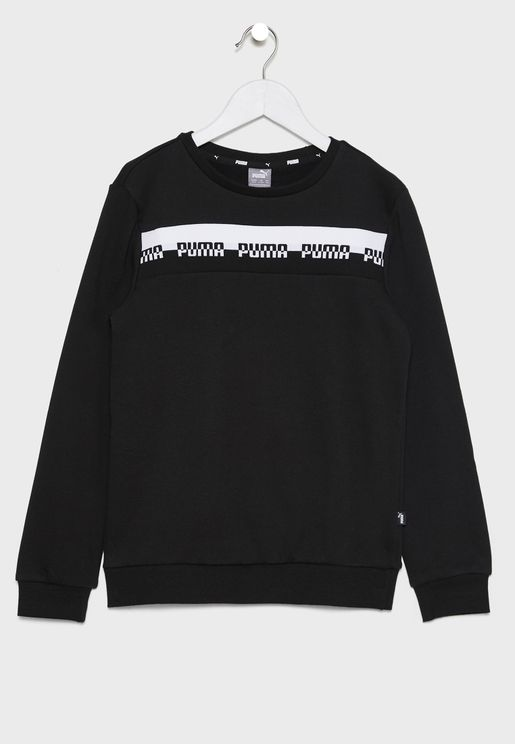 Amplified kids sweater