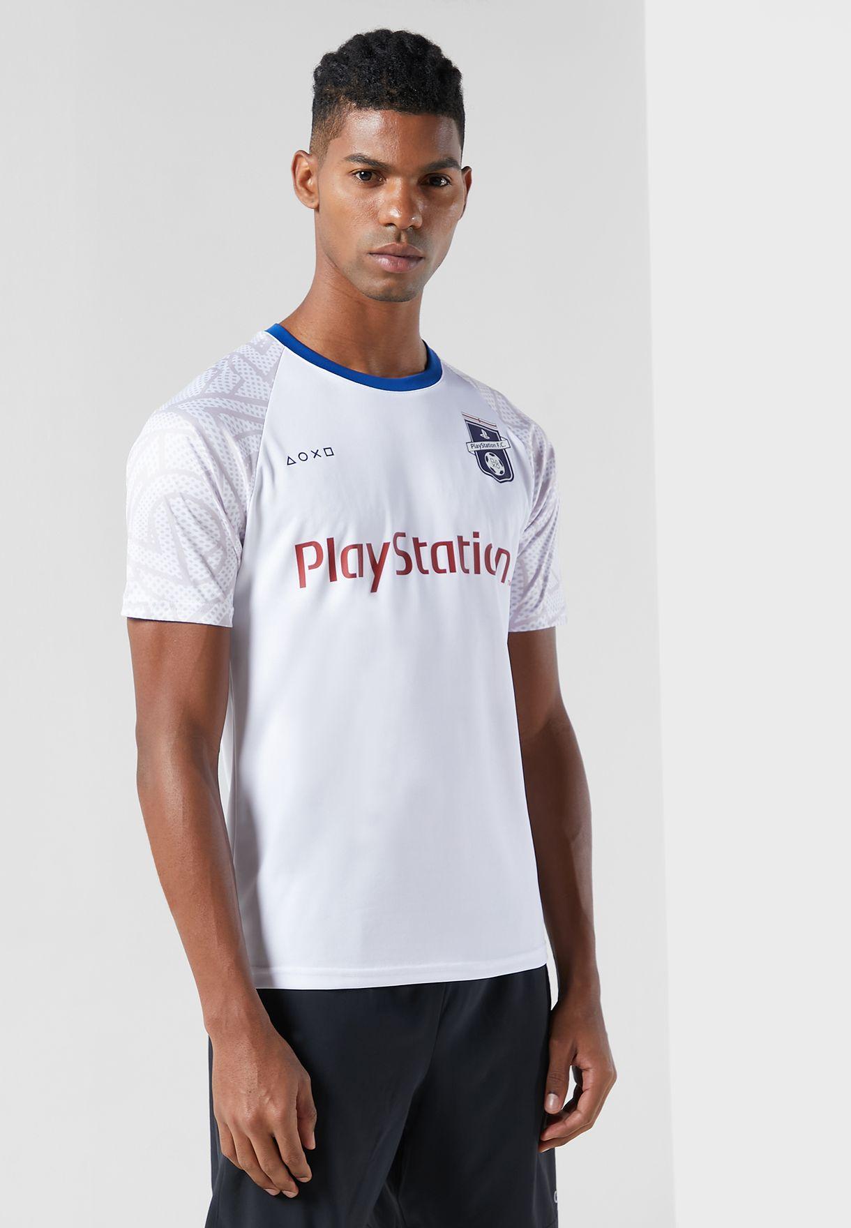 PlayStation England Eu2020 Esports Crew Neck T-Shirt