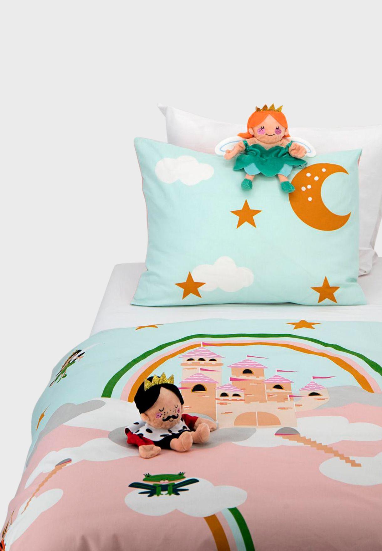 Kids Play Castle Bedding Set 120x150cm