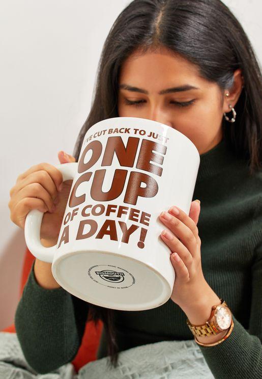 كوب قهوة ضخم