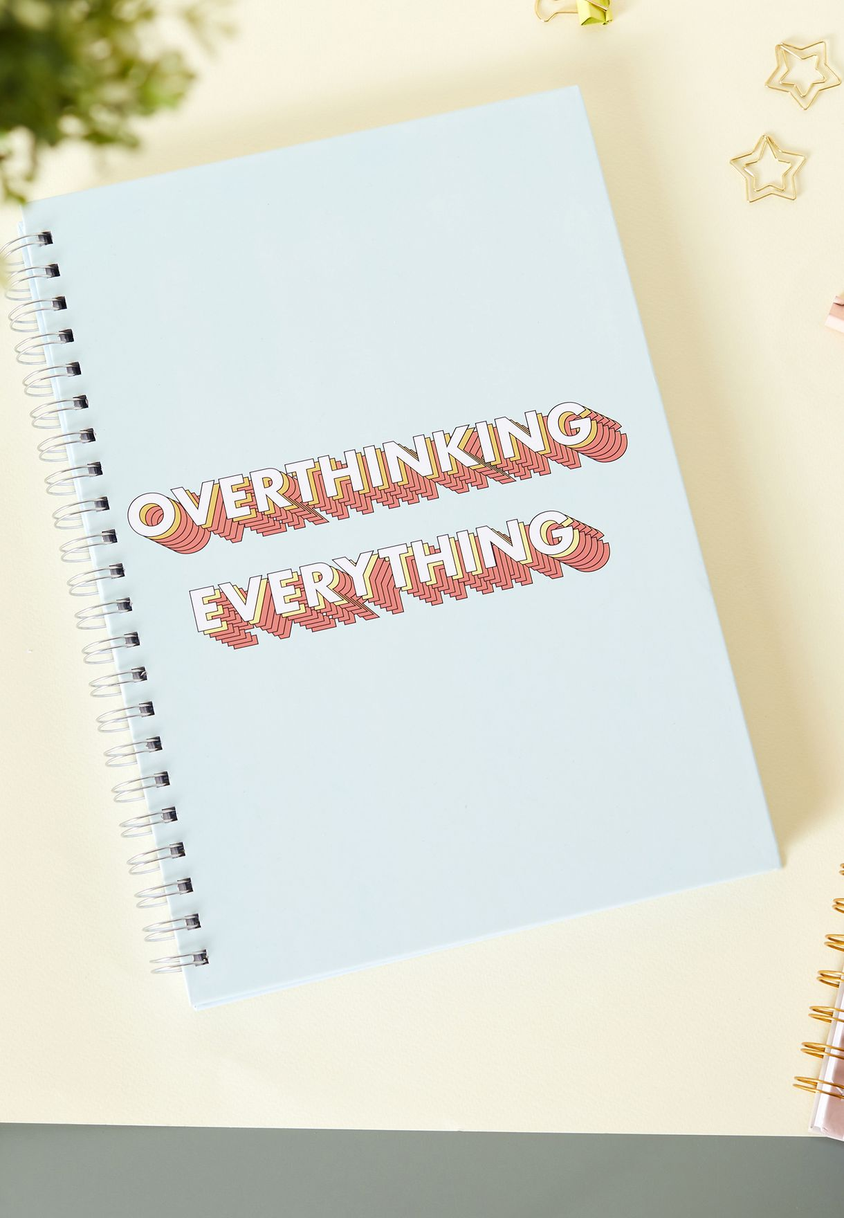 A4 Overthinking Notebook