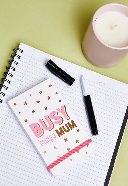 Busy Being A Mum Pocket Notepad
