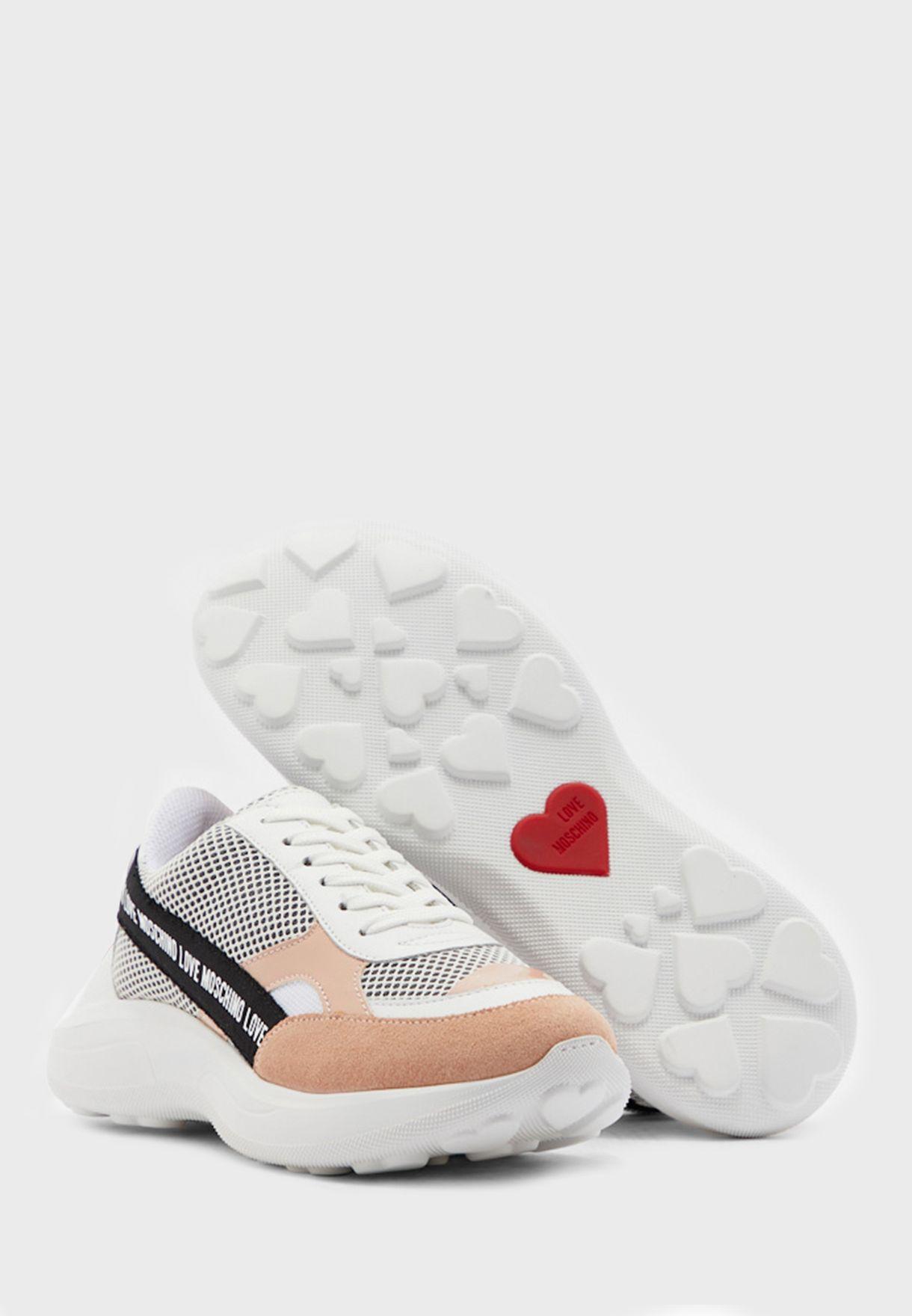 Mesh Detail Sneaker - Fantasy Color