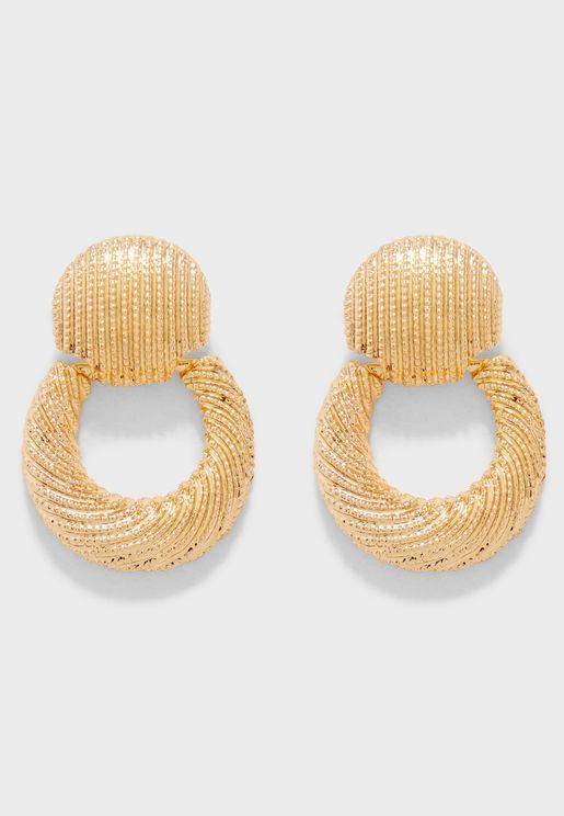Doris Hoop Earrings