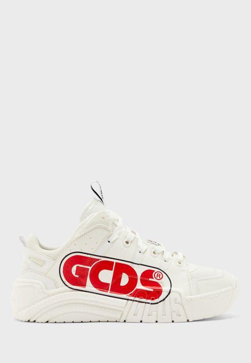 Printed Skate Sneakers