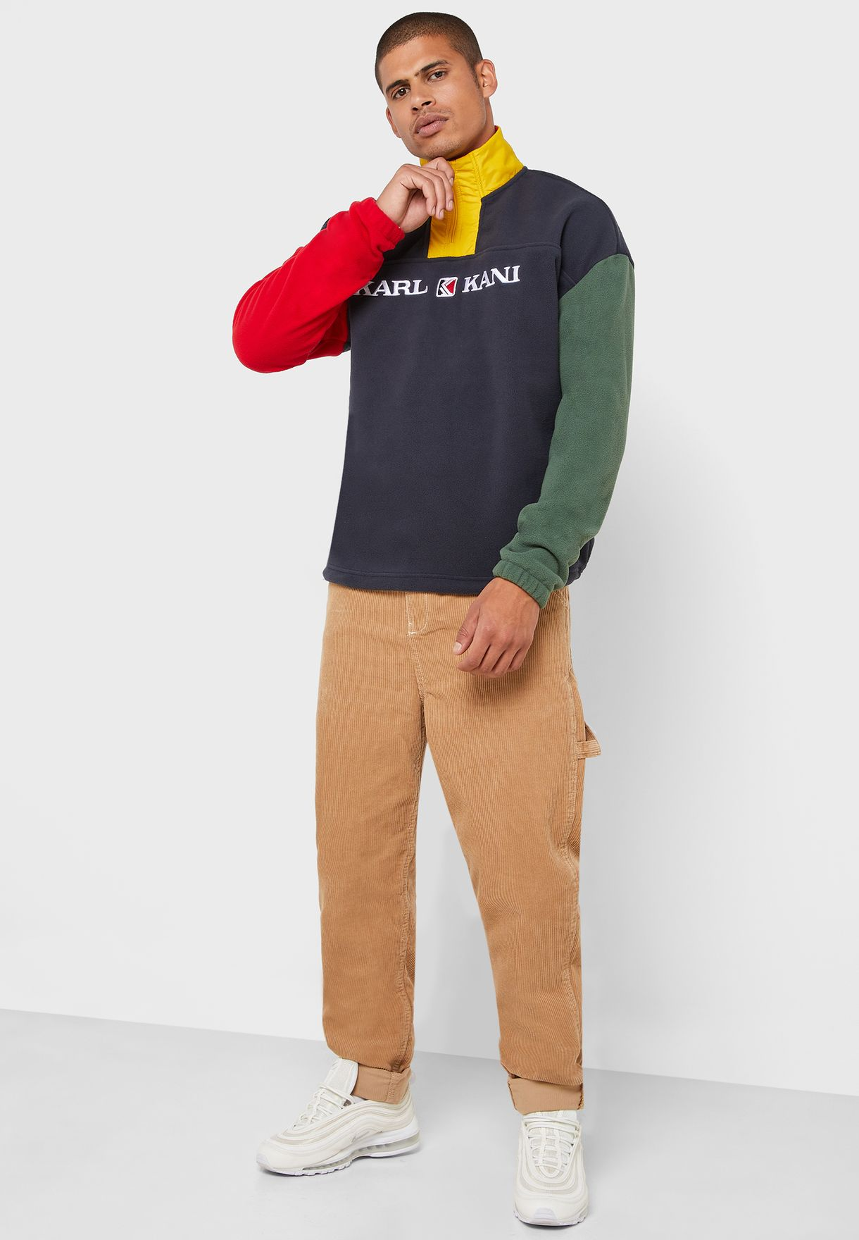 Retro Block Sweatshirt