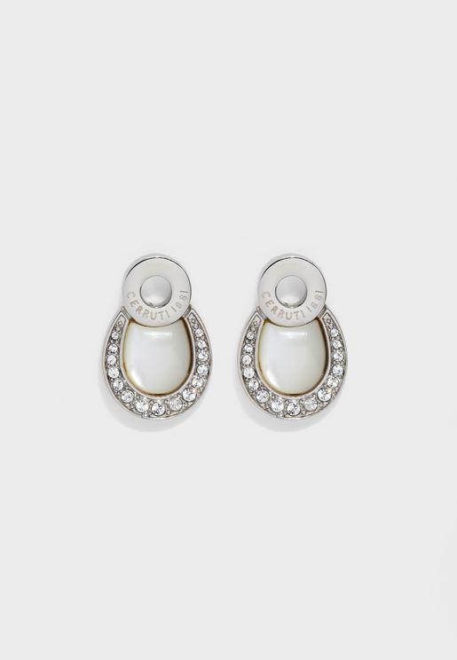 Swarovski Stones Drop Earrings