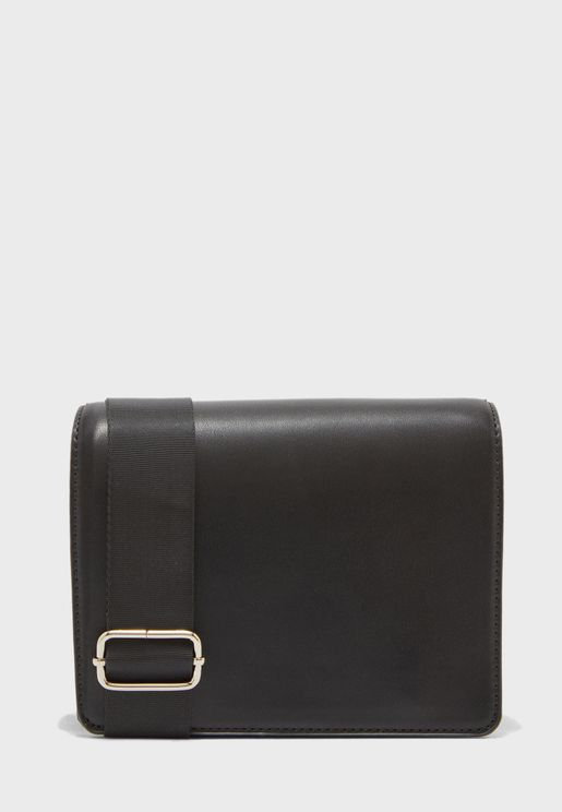 structured flap over crossbody