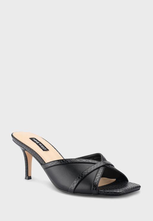 Wndainty3 Mid-Heel Sandals