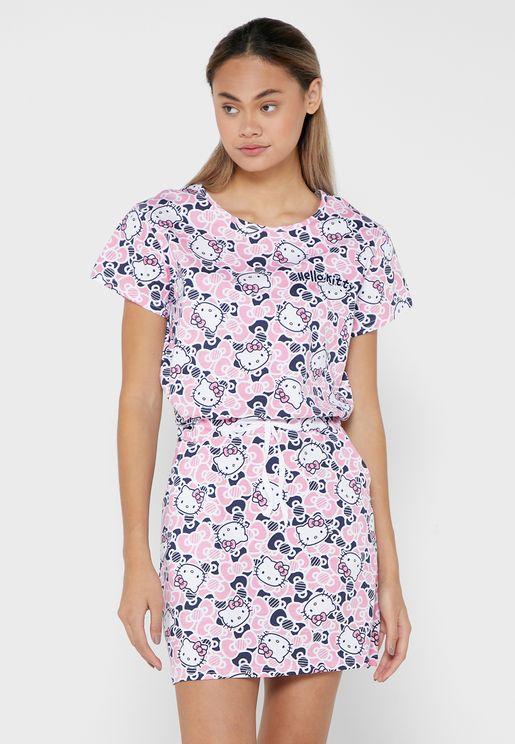 Hello Kitty Nightdress