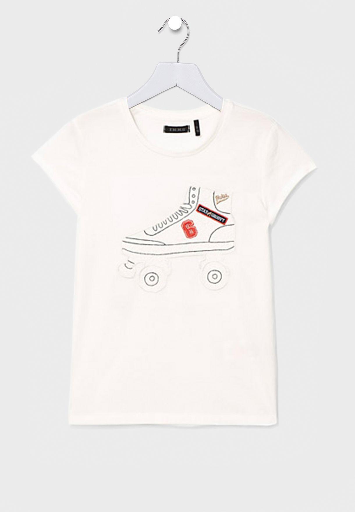 Kids Roller Skates T-Shirt