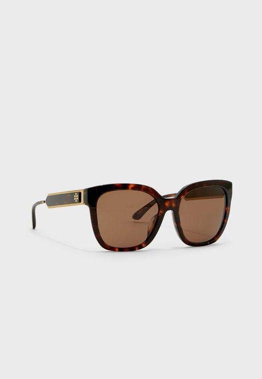 0Ty7161U Oval Shape Sunglasses