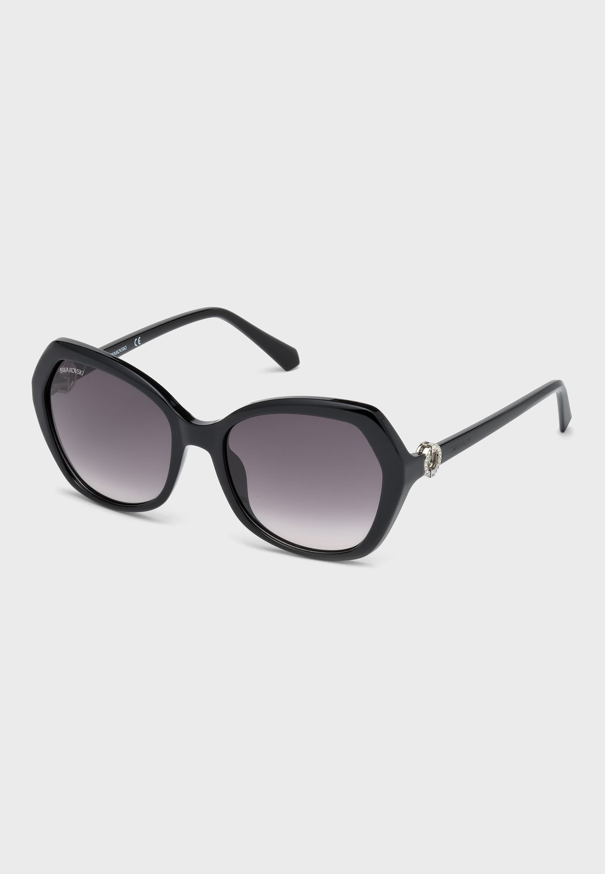 Acetate Gradient Oversized Sunglasses