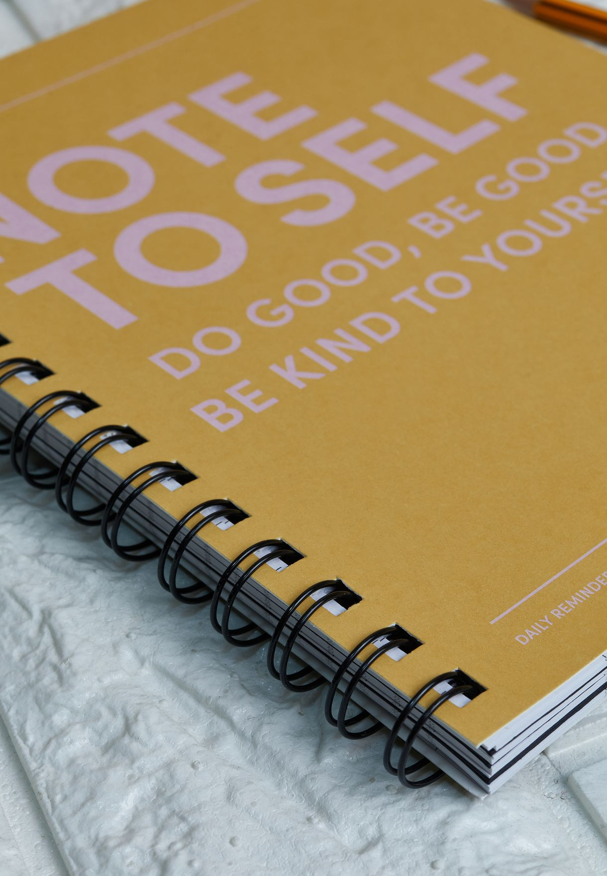 Note to Self Notebook