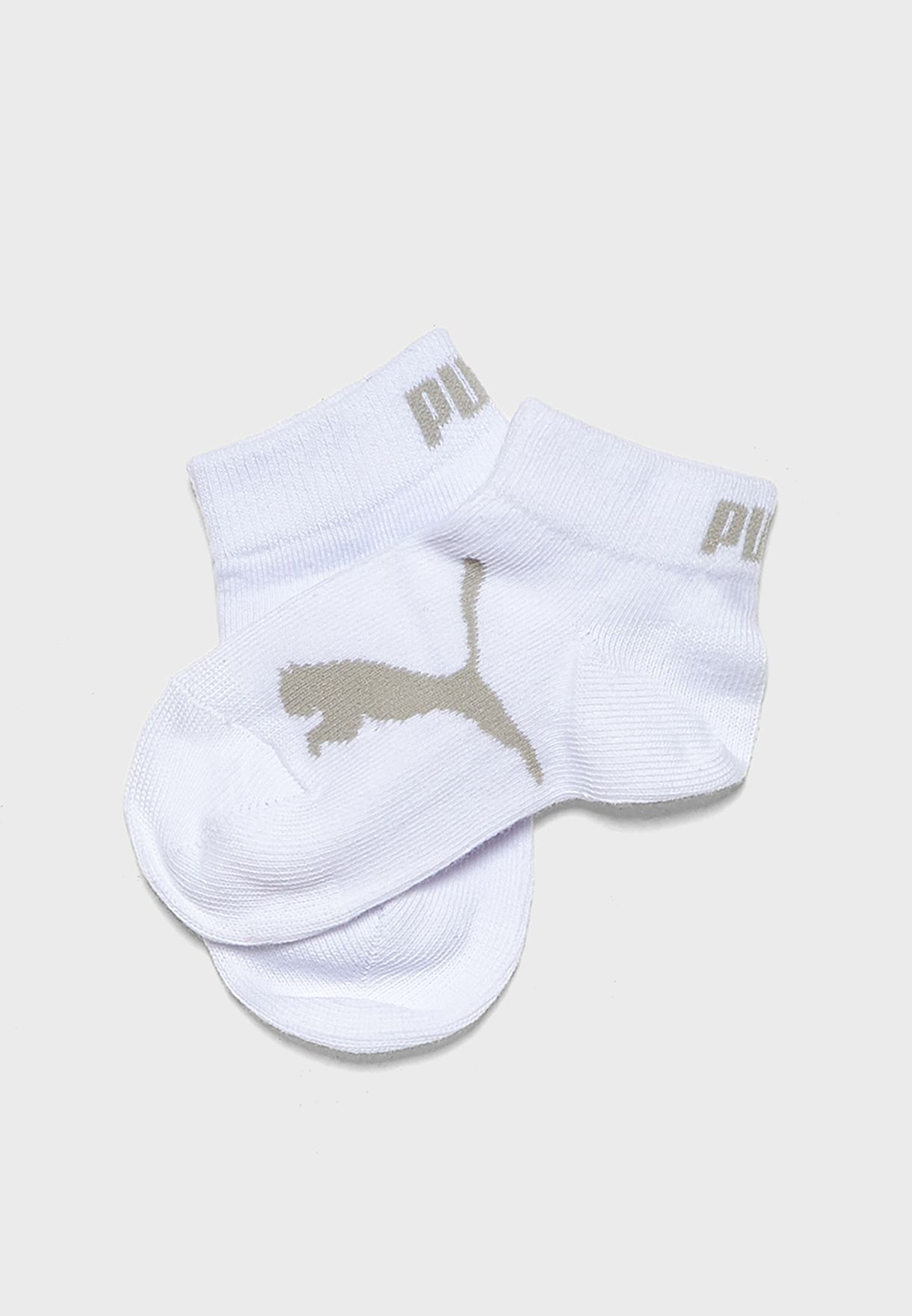 Kids 3 Pack Quarter Socks