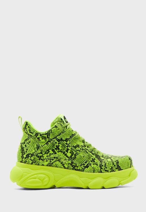 Corin Printed Low Top Sneaker