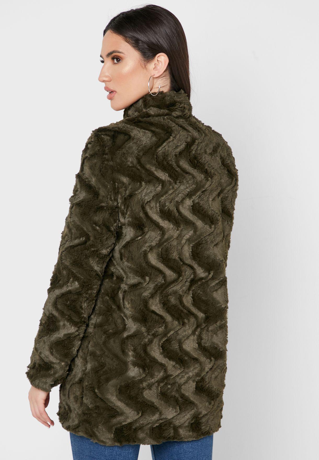 معطف فرو