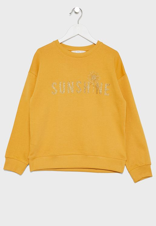 Kids Sunshine Sweatshirt