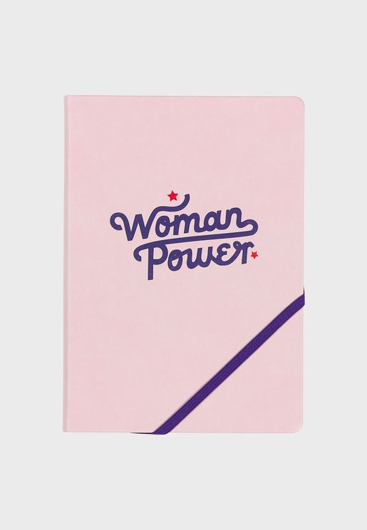 A5 Woman Power Notebook
