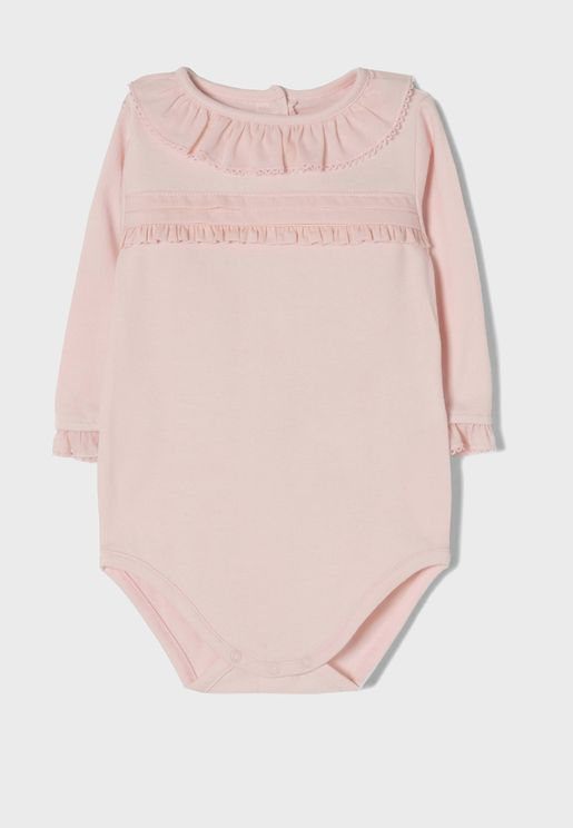 Infant Frill Detail Bodysuit