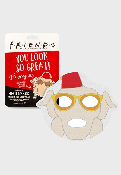 Pavo Turkey Face Mask