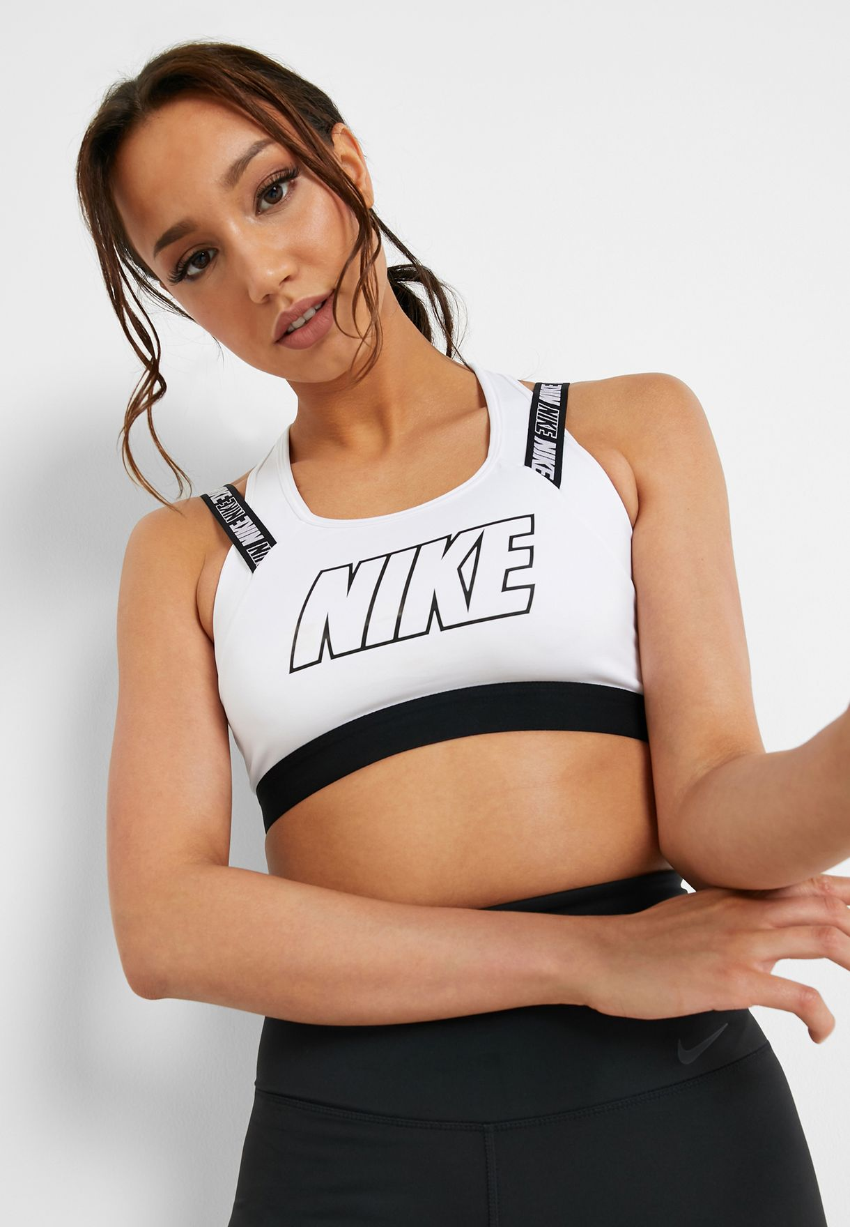 79a6c214a239 Shop Nike white Victory Compression Bra AQ0148-100 for Women in Saudi -  72704AT41KYP