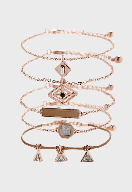 Pretty Shapes Bracelet Set