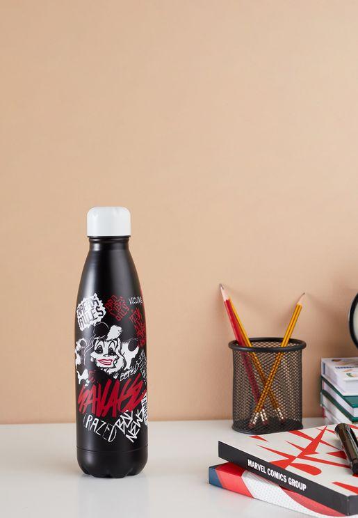 Disney Cruella Water Bottle (Metal)