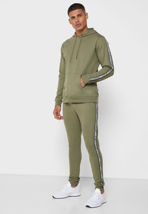 Tape Hooded Tracksuit