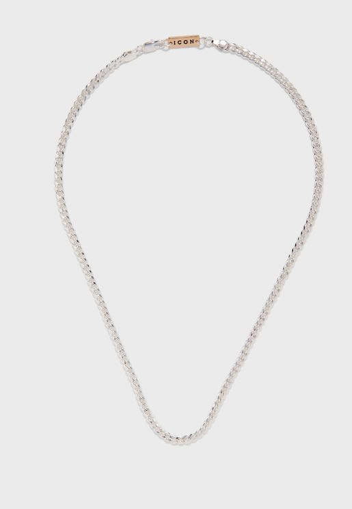 Curb Chain Lobster Lock Necklace