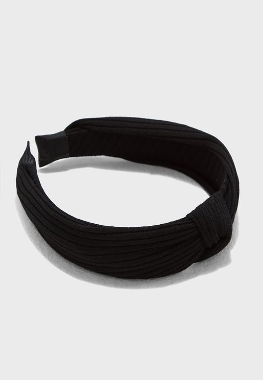 Knot Ribbed Headband