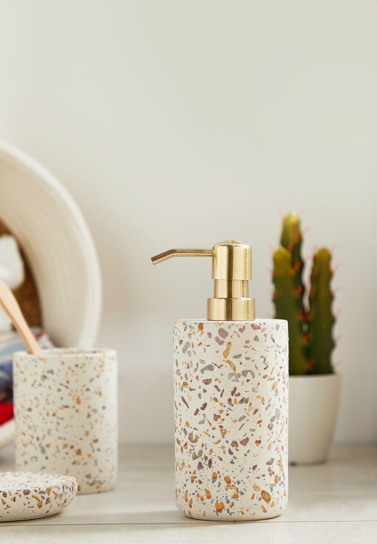 Gozo Concrete Lotion Hand Wash Dispenser 7.7x 18cm