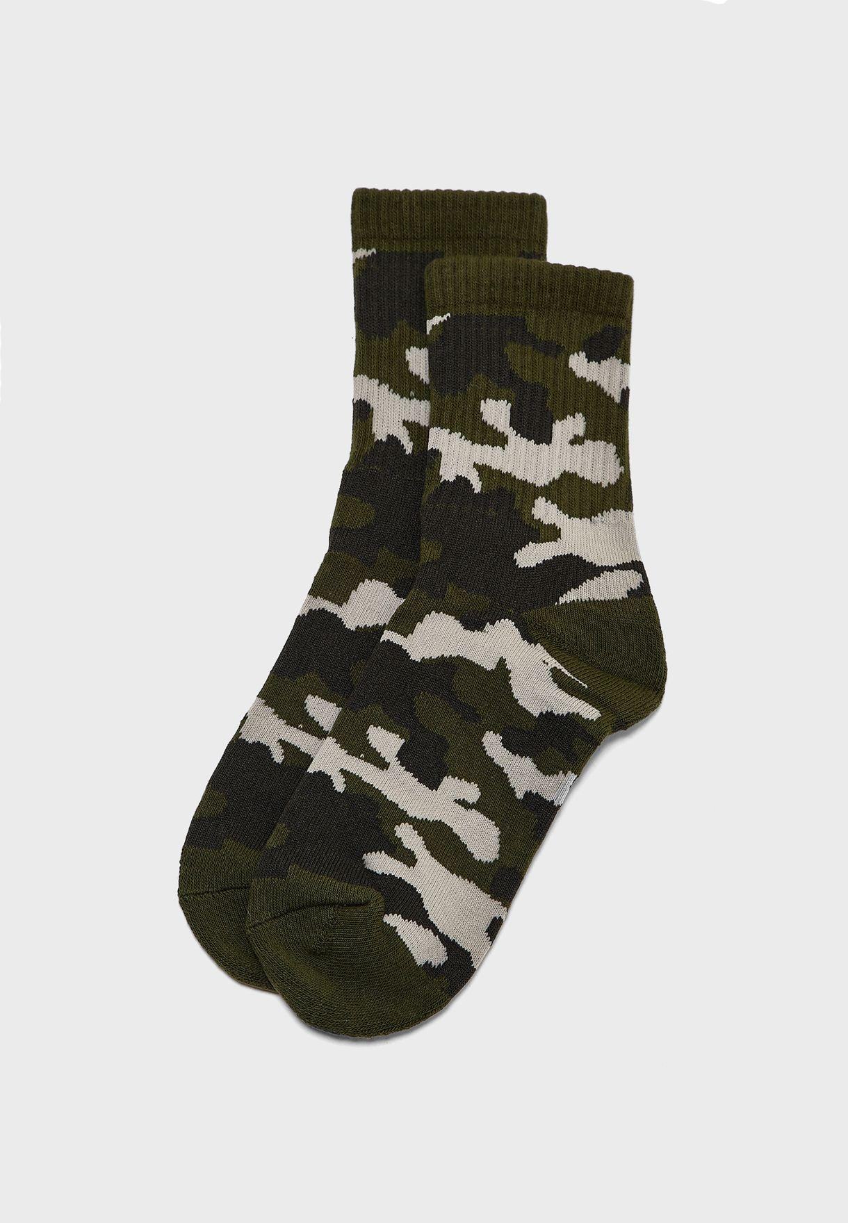 Kids Camo Socks